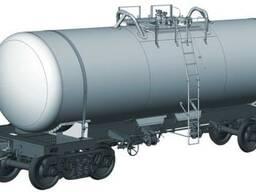 Вагон-цистерна для технической серной кислоты (массовая доля