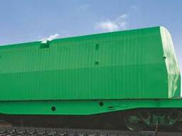 Вагон-платформа, модель 13-9599-02