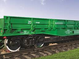 Вагон-платформа универсальная, модель 13-9990-01