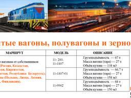 Предоставление подвижного состава (вагона)