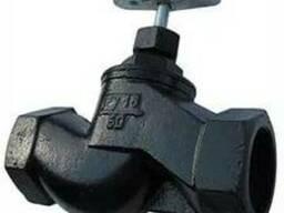 Вентиль муфтовый чугунный 15кч18п (Россия) среда: вода, пар