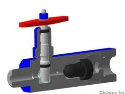 Вентиль высокого давления с разделителем сред ВВДрс
