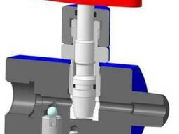 Вентиль высокого давления ВВД, вентиль манометрический