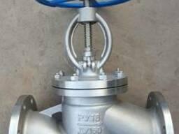 Вентили запорные фл. из нержавеющей стали AISI 304 Ду25/Ру16