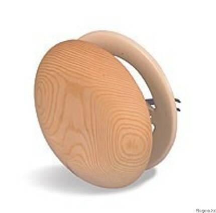 Вентиляционный клапан деревянный для бани