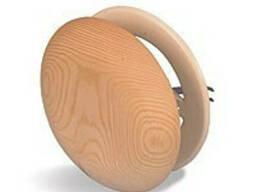 Вентиляционный клапан деревянный для бани - фото 1