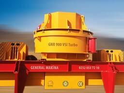Вертикальная дробилка вала gnrk 55-160т/час