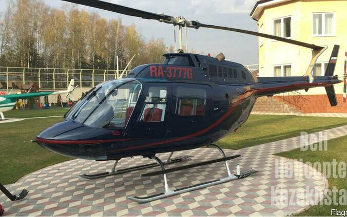 Вертолет Agusta Bell AB-206C1 jetranger II