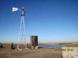 Ветронасос IronMan для подъема воды из скважин и колодцев - фото 2