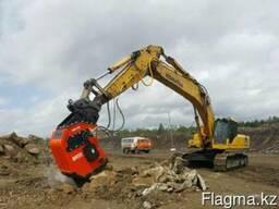 Виброрыхлитель BR55 для экскаваторов массой от 43-55 тонн.