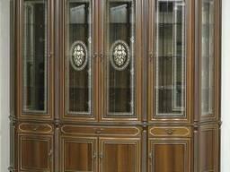 """Витрина 4-х дверная """"Палермо"""" из массива древесины"""