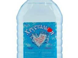 """Вода """"Хрустальная"""" питьевая негазированная 5 л."""