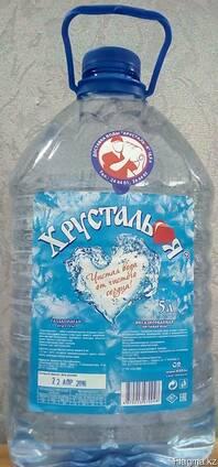 Вода питьевая - Объем 5л (очищенная)