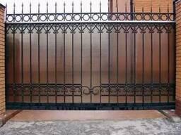 Ворота из полигаля