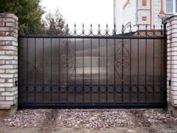 Ворота откатные в Астане
