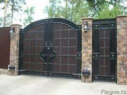 Ворота заборы беседки навесы решетки металлоконструкции
