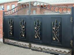 Ворота, заборы, решетки на окна, металлоконструкции.