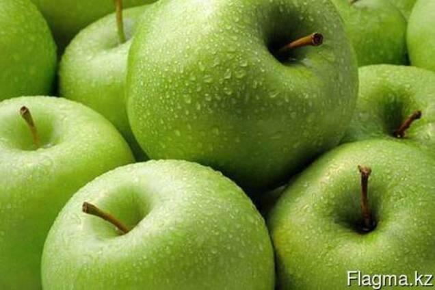 Яблоки сорта Granny Smith - Зелёное яблоко класса Люкс