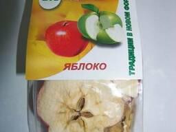 Яблоки вакуумной сушки, чипсы, BioClub, фасовка 50г