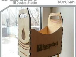 Ящики, коробки, футляры. Изготовление и нанесение логотипа. - фото 3