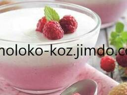 Йогурт из козьего молока
