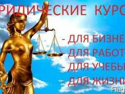 Юридические курсы (для бизнеса, работы, учебы и личных нужд)