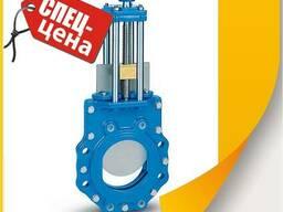 Задвижка шиберная DN100 PN10/16, 15 кг