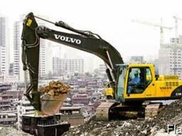 Запасные части (запчасти) экскаватора Volvo