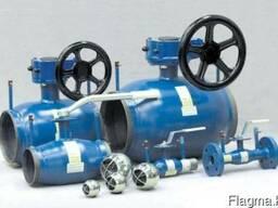 Запорная арматура и детали трубопровода