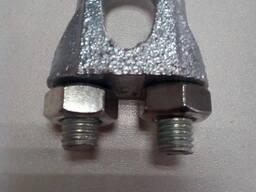 Зажим М12 DIN 741 для стальных канатов