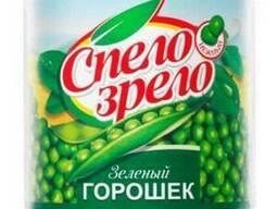 Зеленый горошек Спело зрело, пр-ва Россия жб 425 гр