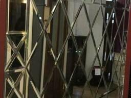 Зеркальное панно, зеркальная плитка - фото 2