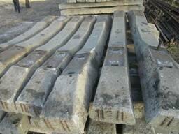 Железнодорожные материалы ВСП и шпалы деревяные и бетонные