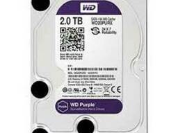 "Жесткий диск WD20PURX 2000ГБ Western Digital ""Caviar Purple"