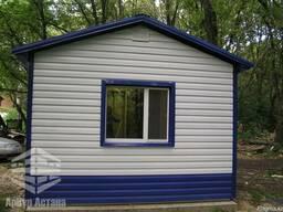 Жилой дом из металлоконструкций 4м * 3м