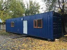 Жилой контейнер 40ф, под жилье, офис, бытовка