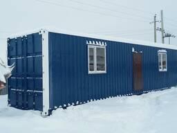 Жилые утепленные 20,40 футовые контейнеры в Алматы.