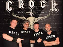 Живая музыка на корпоратив, праздник, рок группа CROCK